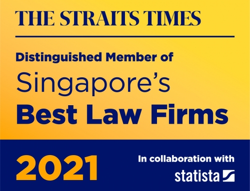 Yusarn Audrey on the Best Law Firms Singapore 2021 List