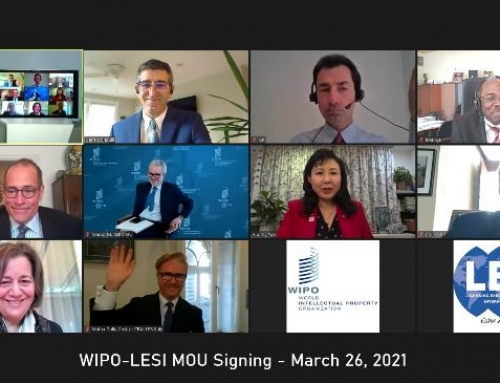 LESI and WIPO Sign Updated MOU to Support Education and Assistance on IP Commercialization